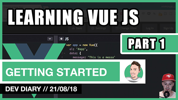 Learning VUE JS - Part 1