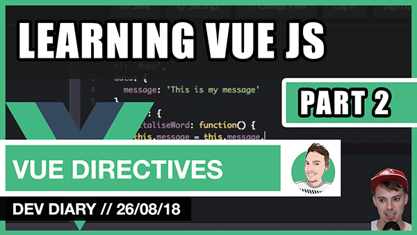 Learning VUE JS - Part 2